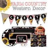 Farm Country Western Decor Bundle