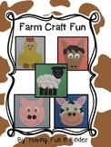 Farm Craft Fun/Farm Craftivity Fun