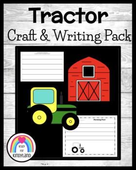 Transportation / Vehicle Craft and Writing: Tractor, Barn