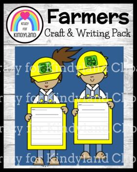 Community Helpers Craft and Writing: Farmers