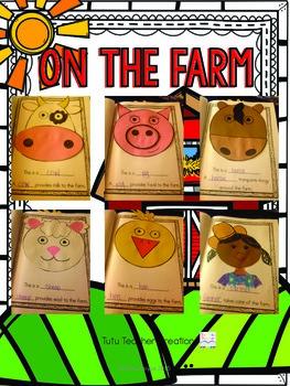Farm Craftivity Book