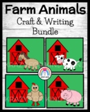 Farm Craft Activity Pack for Literacy Center, Writing: Cow, Horse, Pig, Chicken