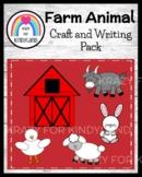Farm Craft Bundle: Barn Writing, Duck, Goat, Sheep, Rabbit (Animal Research)