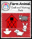 Farm Craft Activity: Barn Writing, Duck, Goat, Sheep, Rabbit (Animal Research)
