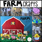 Farm Crafts and Activities for Preschool and Kindergarten (Visual Directions)