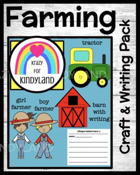 Farm Crafts and Writing Value Pack: Farmers, Tractor, Barn with Writing