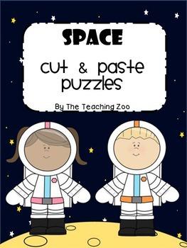 Space Cut & Paste Puzzles