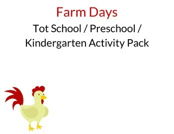 Farm Days Activity Pack