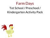 Farm Days Activity Pack