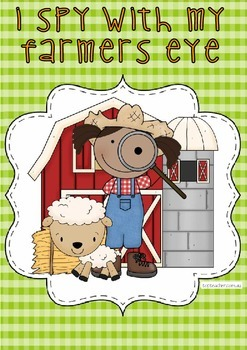 Farm Detective - I spy letters