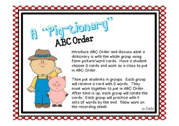 Farm - Digraph sh & th and Other Literacy Activities