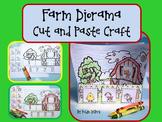 Farm Diorama {Cut and Paste Farm Craft}