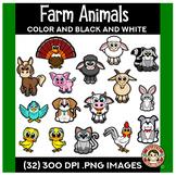 Farm/Domestic animals Clip Art | Squishies Clipart