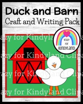 Farm: Duck Craft and Barn Writing