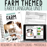 Farm Early Language Unit- Early Intervention- Speech Therapy