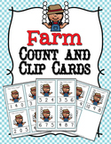 Farm Eggs Count and Clip Cards