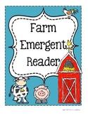 Farm Emergent Reader ~ What Am I?