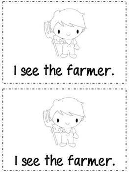Farm - Emergent Reader {freebie}
