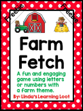 Farm Fetch Freebie: A Simple Game Using Numbers and Letters