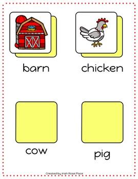 Farm File Folder Bundle
