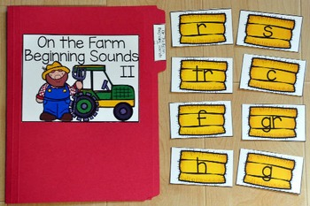 Farm File Folder Games