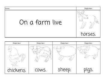 Farm Flip Book