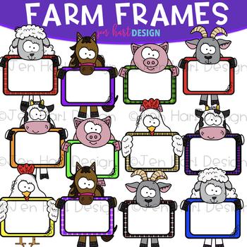 Farm Frame Clip Art: Frame Clipart {jen hart Clip Art} by Jen Hart ...