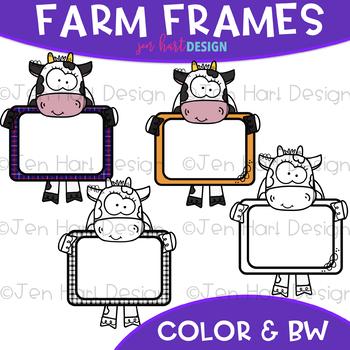 Farm Frame Clip Art: Frame Clipart {jen hart Clip Art}