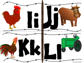 Farm Fresh Alphabet (Word Wall Tags)
