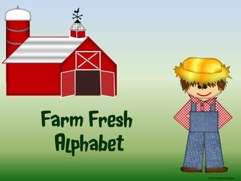 Farm Fresh Alphabet (Word Wall Tags)