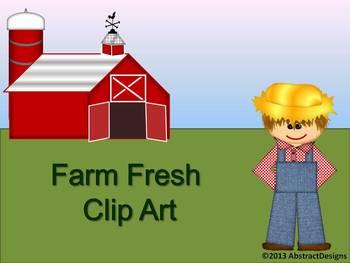 Farm Fresh CLIP ART