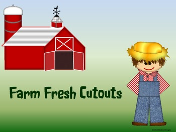 Farm Fresh Cutouts