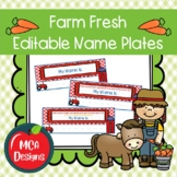 Farm Fresh - Name Plates