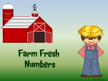 Farm Fresh Numbers (100's Chart and Calendar)