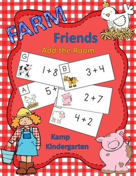 Farm Friends Add the Room Sums of 0-10