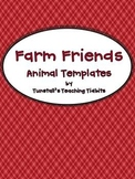 Farm Friends Animal Templates