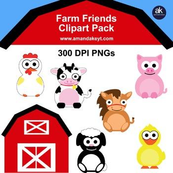 Farm Friends Clipart