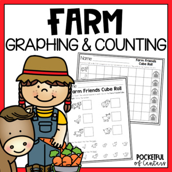 Farm Cube Roll Math Game