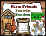Farm Friends FRACTION Fun ART