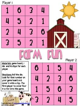 Farm Friends Four in a Row