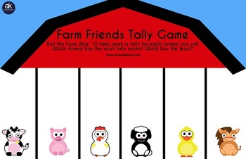Farm Friends Games Printable Pack