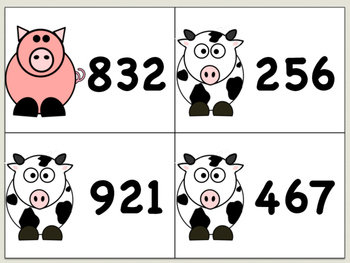 Farm Friends Number Order