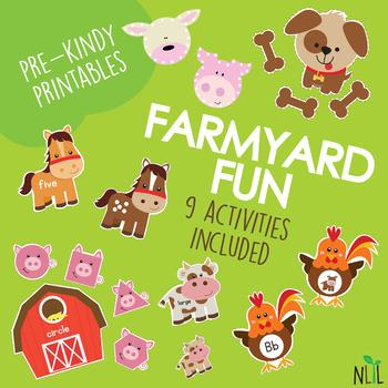 Farm Friends Preschool Pack
