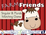 Farm Friends Singular & Plural Matching Game with a twist! 48 cards total