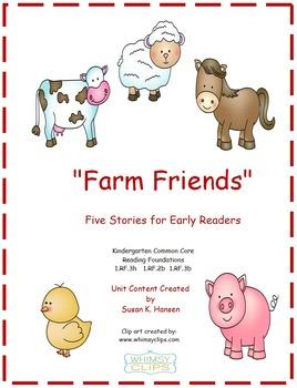Kindergarten Reading: Farm Theme