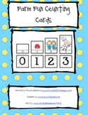 Farm Fun Counting Cards