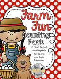 Farm Fun Counting MEGA Pack 1-10