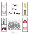 Farm Fun Dominoes