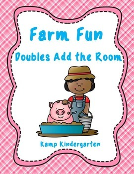 Farm Fun Doubles Add the Room (Sums of 0 to 20)