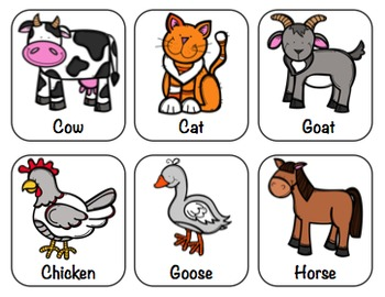 Farm Fun Early Language Packet (Preschool & K)